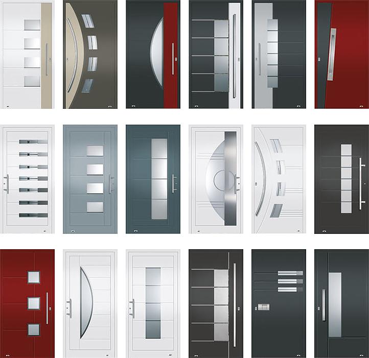 Aluminium haustüren  Fensterbau Thomas, Essen | Aluminium-Haustüren